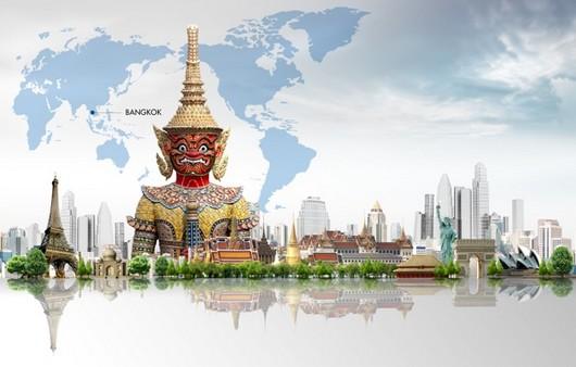 Статуя в Бангкоке