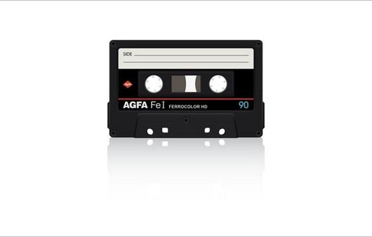 Фотообои Винтажная кассета