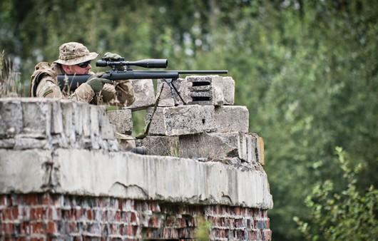 Фотообои Снайпер в засаде
