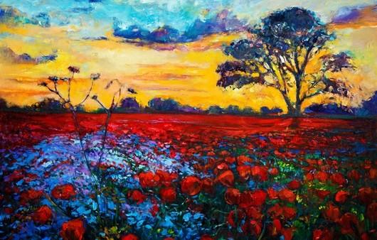 Фотообои Цветочное поле