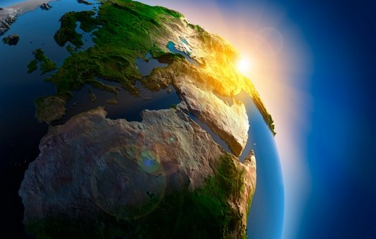 Планета Земля в 3Д