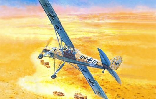 Самолет в пустыне