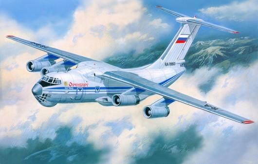 Фотообои Самолет Ил-76