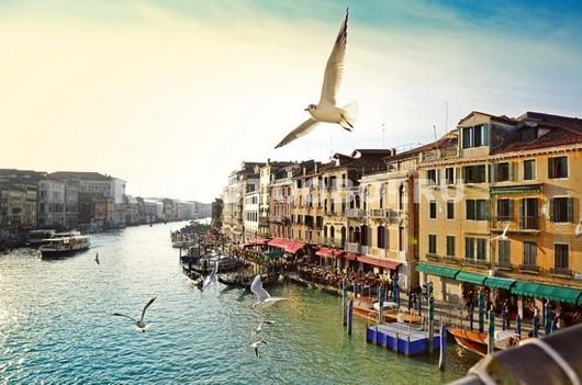 Пейзаж в Венеции