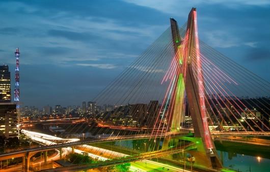 Фотообои Город Сан-Паулу