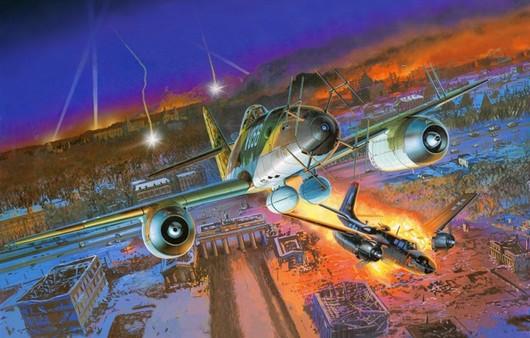 Фотообои Самолет Me — 262A — 1a
