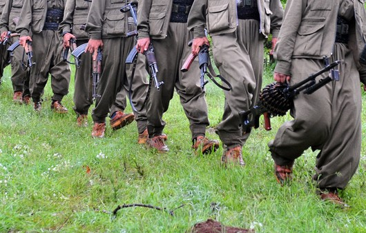Солдаты в поле
