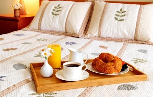 Фотообои Завтрак в постели