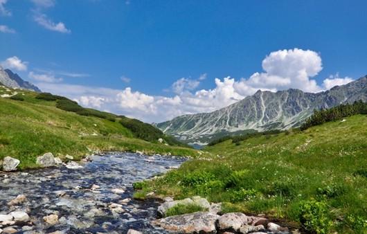 Пейзаж в горной местности