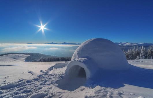 Снежный дом иглу