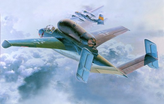 Самолет He-162A-2