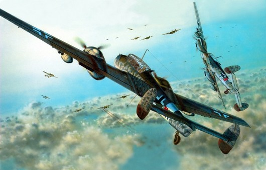 Самолет Bf-110