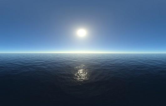 Солнце на горизонте