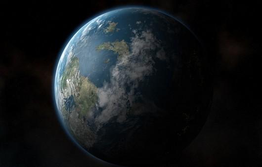 Планета Земля со спутника