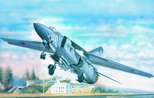 Самолет Миг-23М