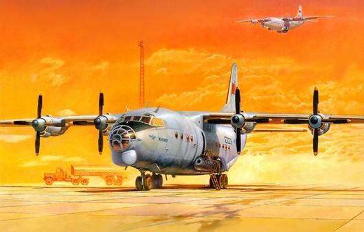 Самолет Ан-12БК