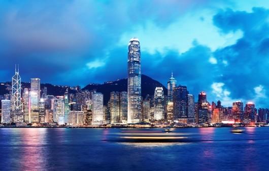 Фотообои Город Hong Kong