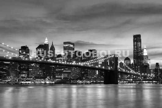 Нью-Йорк пасмурная ночь