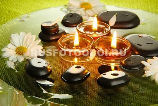 Камешки и свечи