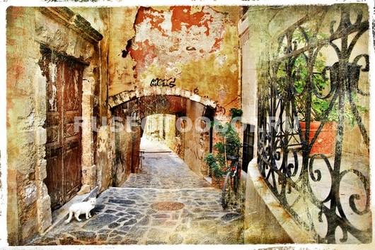 Маленькая улочка в Италии