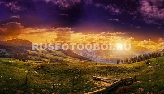 Фотообои Альпийские луга
