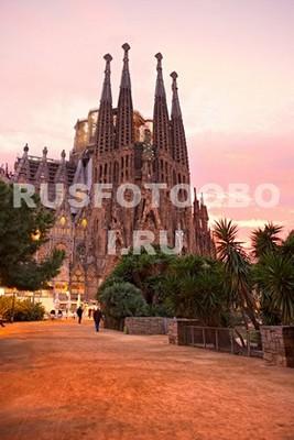 Фотообои Барселона