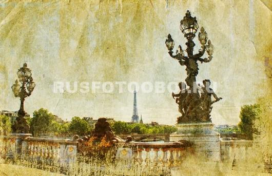 Старая фотография Парижа