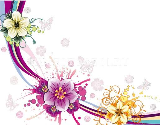 Фотообои Празднечные цветы