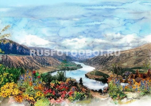 Цветочная долина