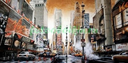 Фотообои Нью-Йорк рисунок