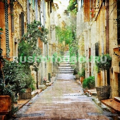 Улочка в провинции Италии