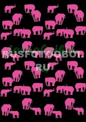Розовые слоники