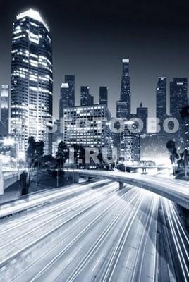 Свет ночного мегаполиса