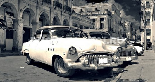 Фотообои Автомобили в Кубе