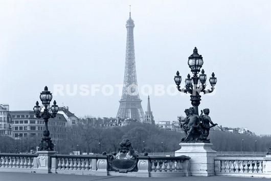 Париж холодной осенью