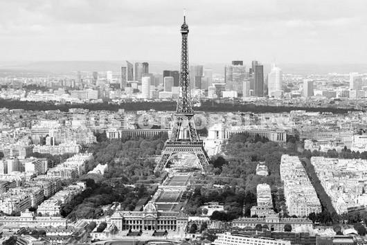 Париж чб
