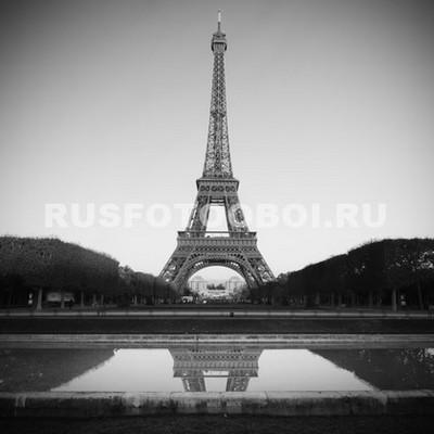 Эйфелева башня утром