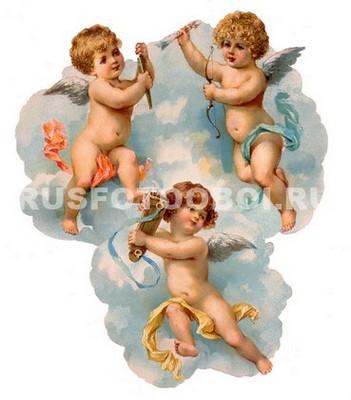 Фотообои Ангелы на облках