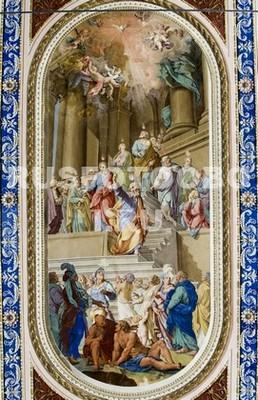 Фотообои Ангелы фреска