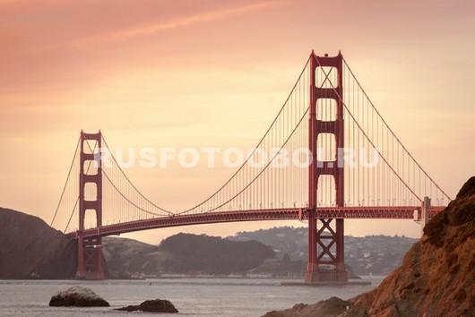 Фотообои Мост Золотые Ворота