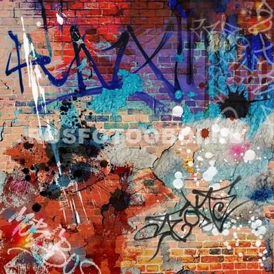 Граффити стена
