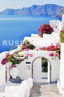 Фотообои Белая арка
