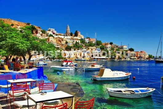 Фотообои Бухта в Греции