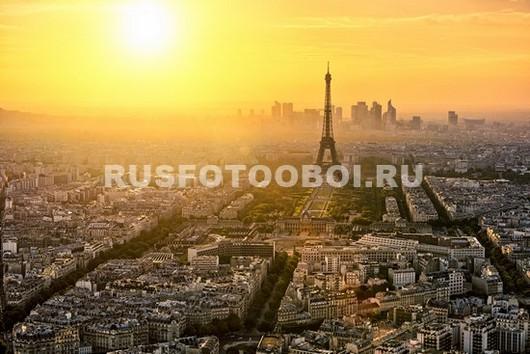 Париж закат