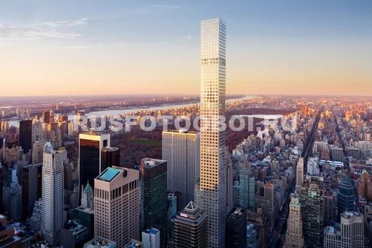 Высокие небоскребы
