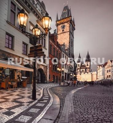 Фонарь в Праге