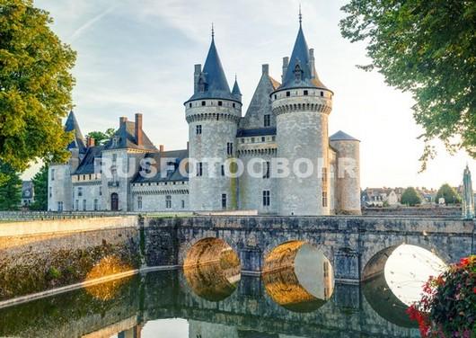 Замок у воды 3Д
