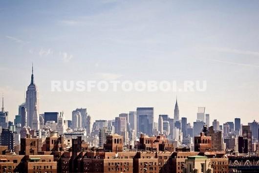 Фотообои Нью-Йорк 3Д