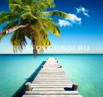 Фотообои Пирс в море 3Д