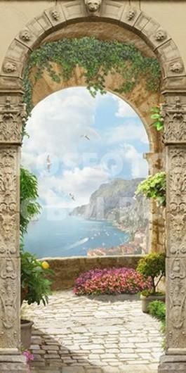 Фотообои Горы и море